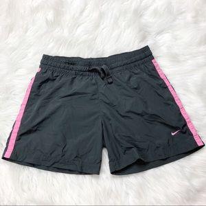 Nike Dark Gray & Pink Shorts Size Small